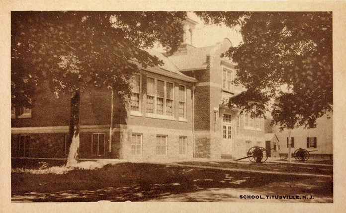 Titusville Academy - vintage photo of school building
