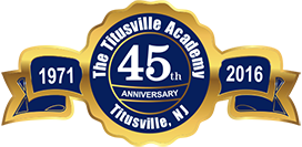 Titusville Academy 45th Anniversary Medallion graphic